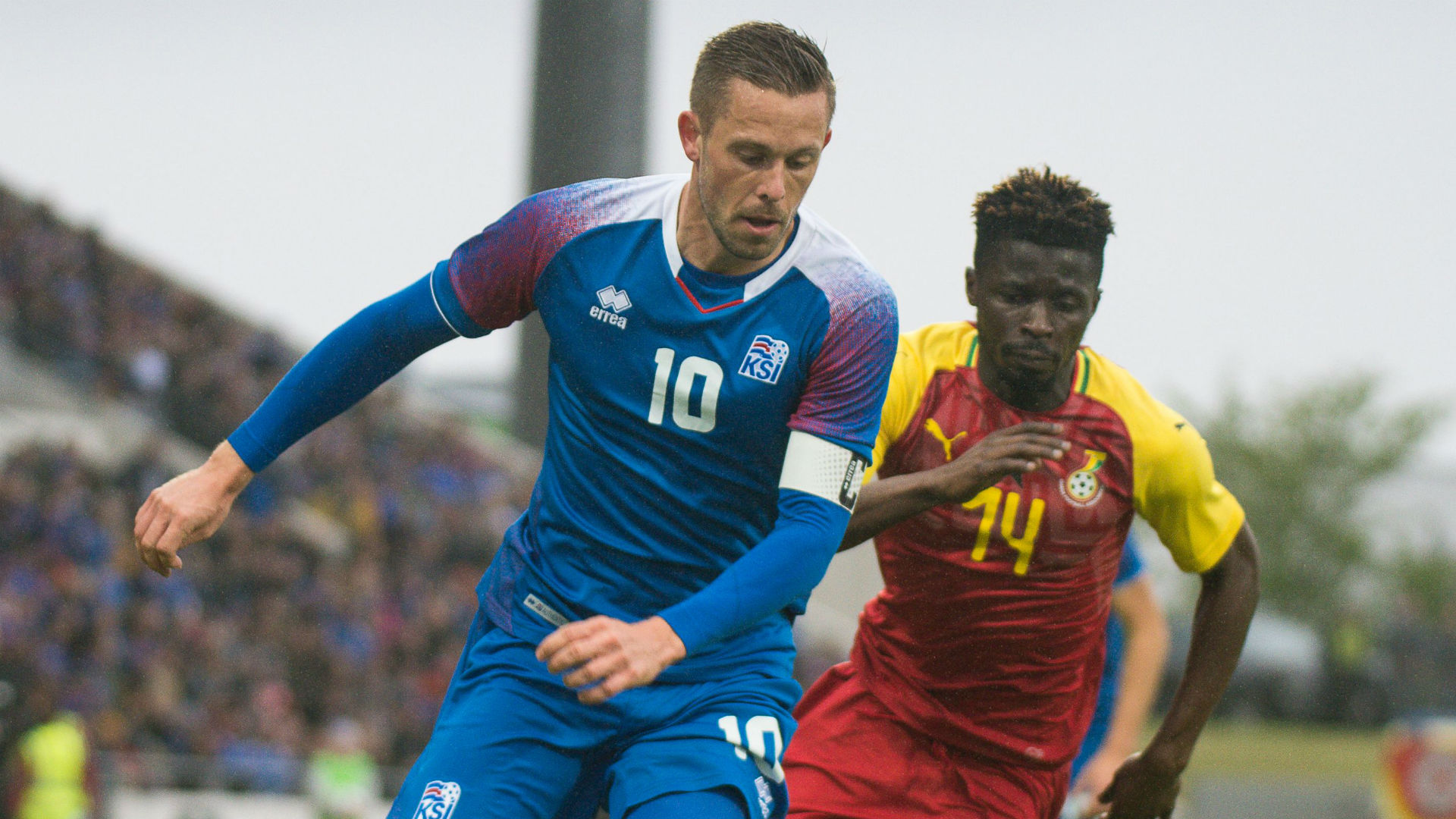 Gylfi Sigurdsson Nana Ampomah Iceland Ghana international friendly 2018