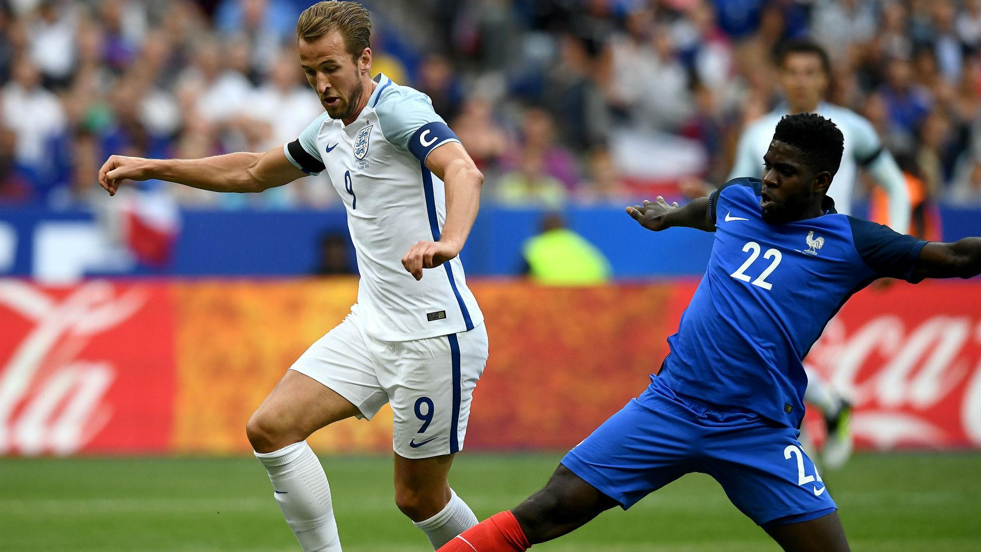 Samuel Umtiti France England