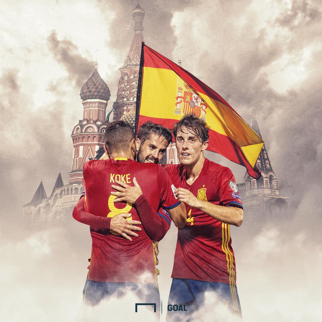 Spain World Cup GFX