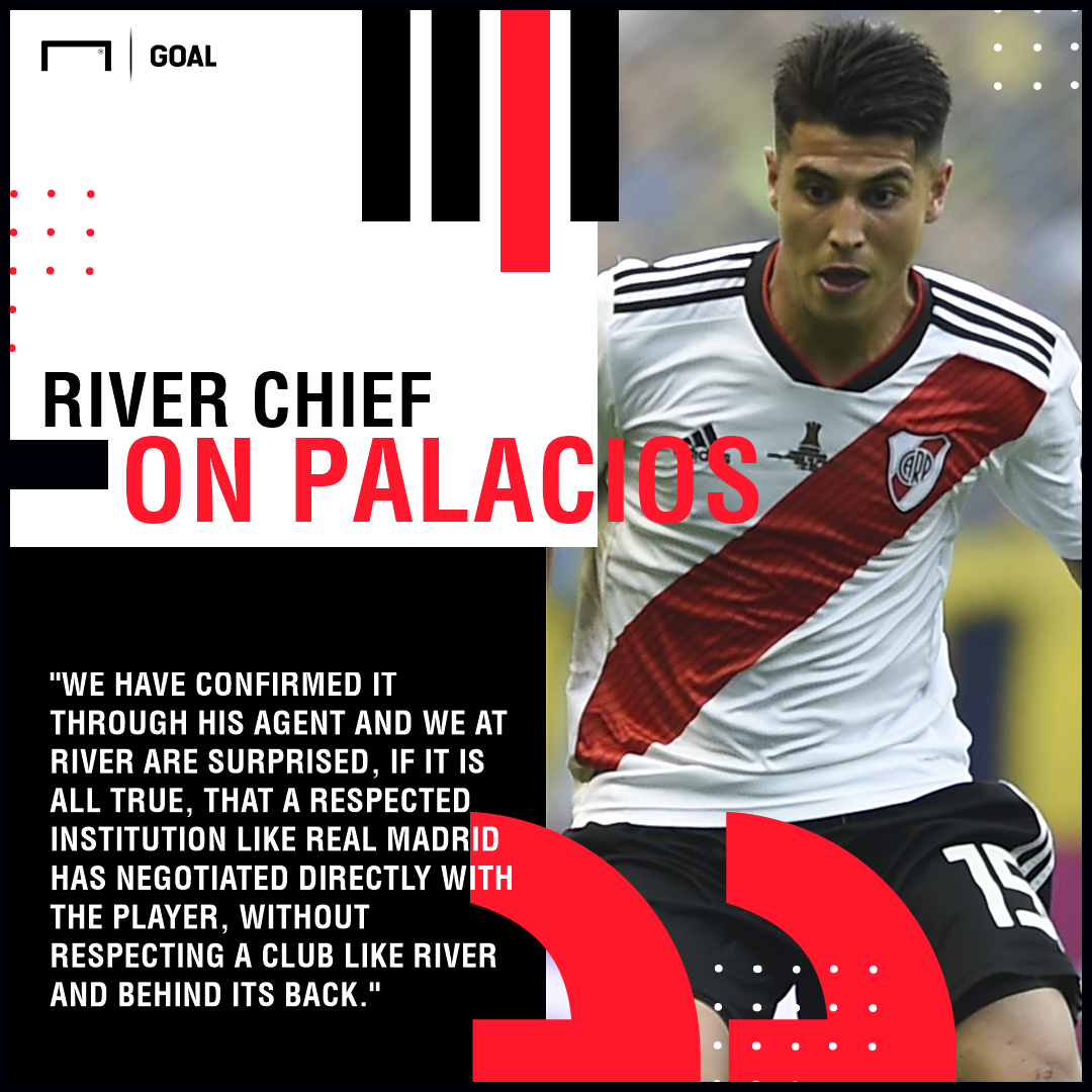Exequiel Palacios River Plate GFX