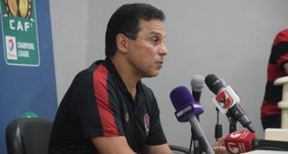 Hossam Elbadry - Ahly coach , by: mahmoud maher
