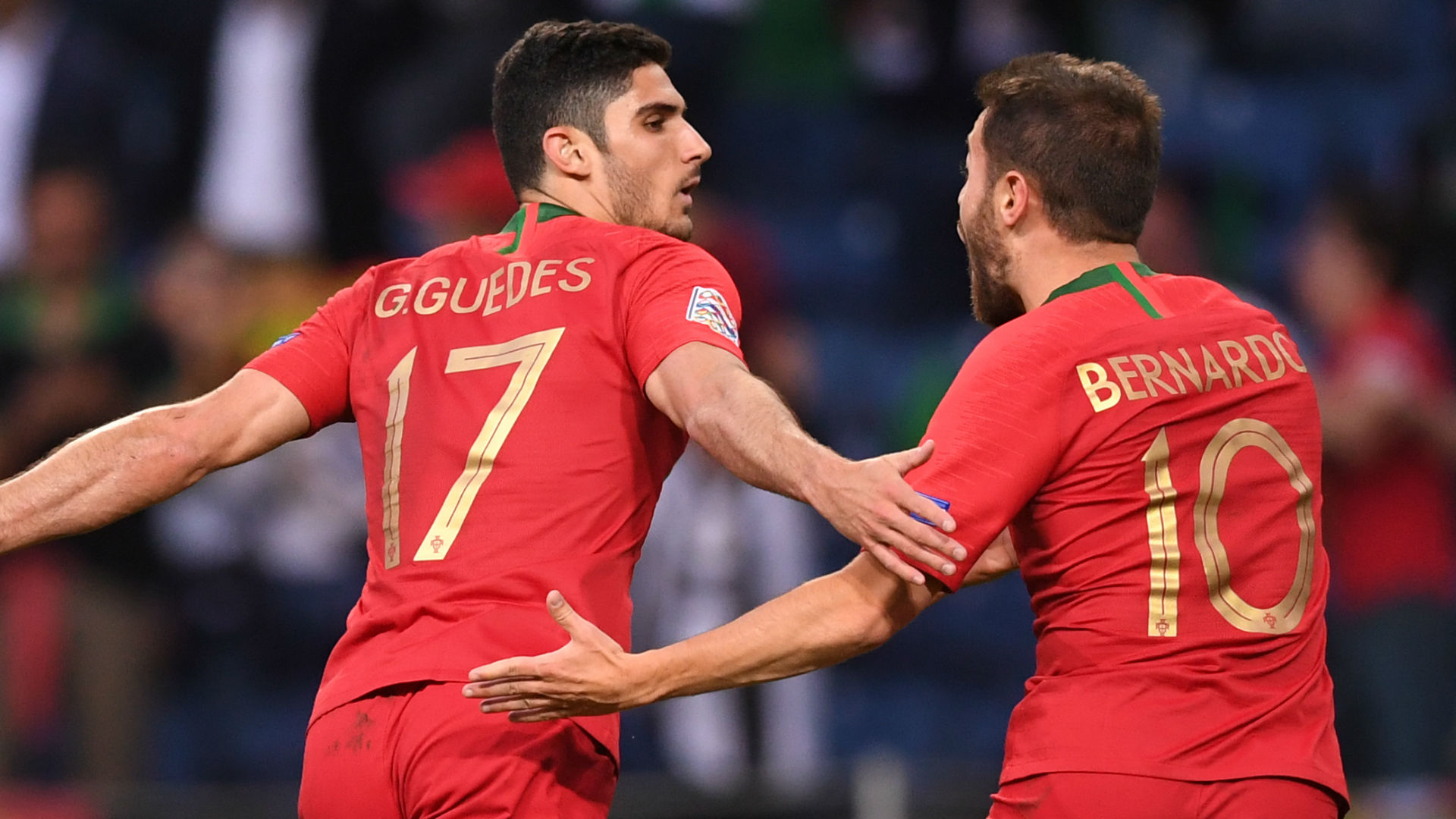 Guedes Portugal Nations league