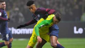 Presnel Kimpembe Andrei Girotto  Nantes PSG Ligue 1 14012018