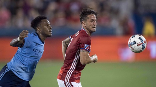 Rodney Wallace New York City FC Hernan Grana FC Dallas
