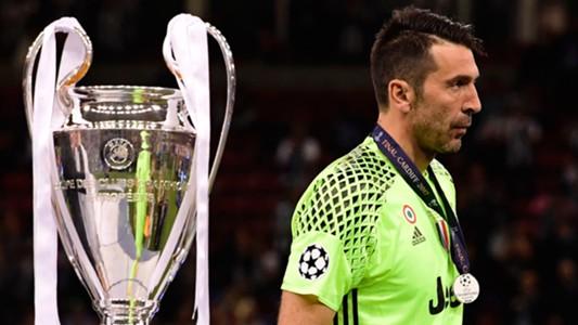 Gianluigi Buffon Juventus Champions League