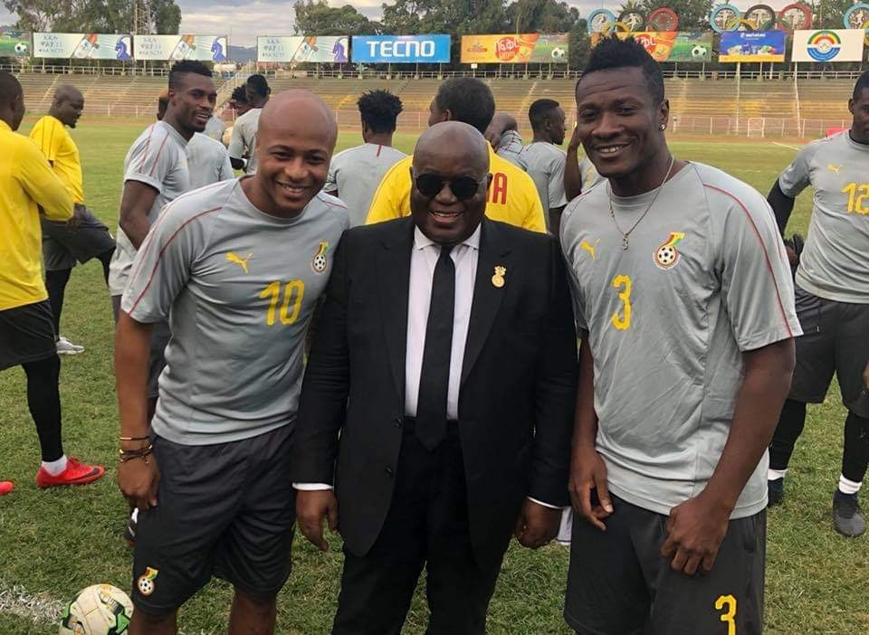 Ghana president urges Black Stars to dismantle Ethiopia