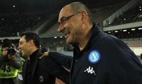 Sarri Montella Napoli Milan Serie A