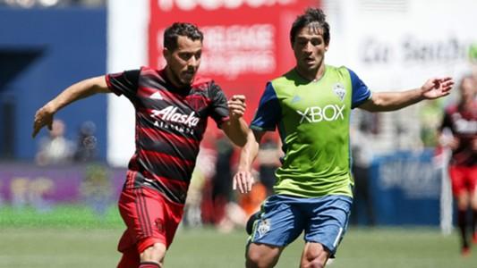 Nicolas Lodeiro Sebastian Blanco MLS Seattle Portland 05272017