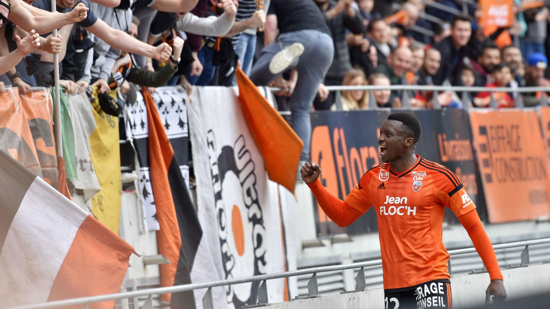 Benjamin Moukandjo Lorient Caen Ligue 1 02042017