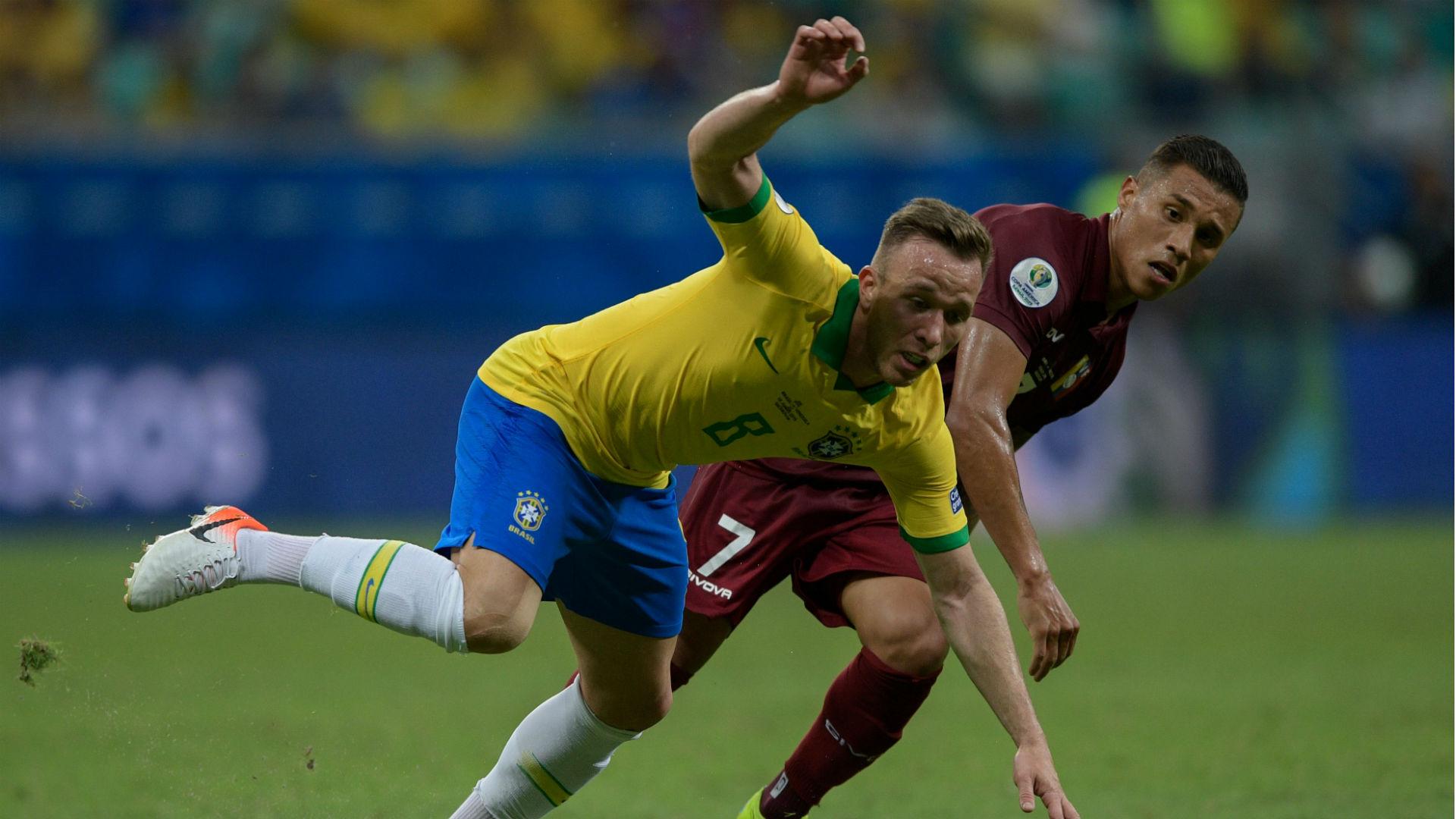 Arthur Darwin Machis Brazil Venezuela Copa America 2019