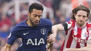 Mousa Dembele Joe Allen Tottenham Stoke