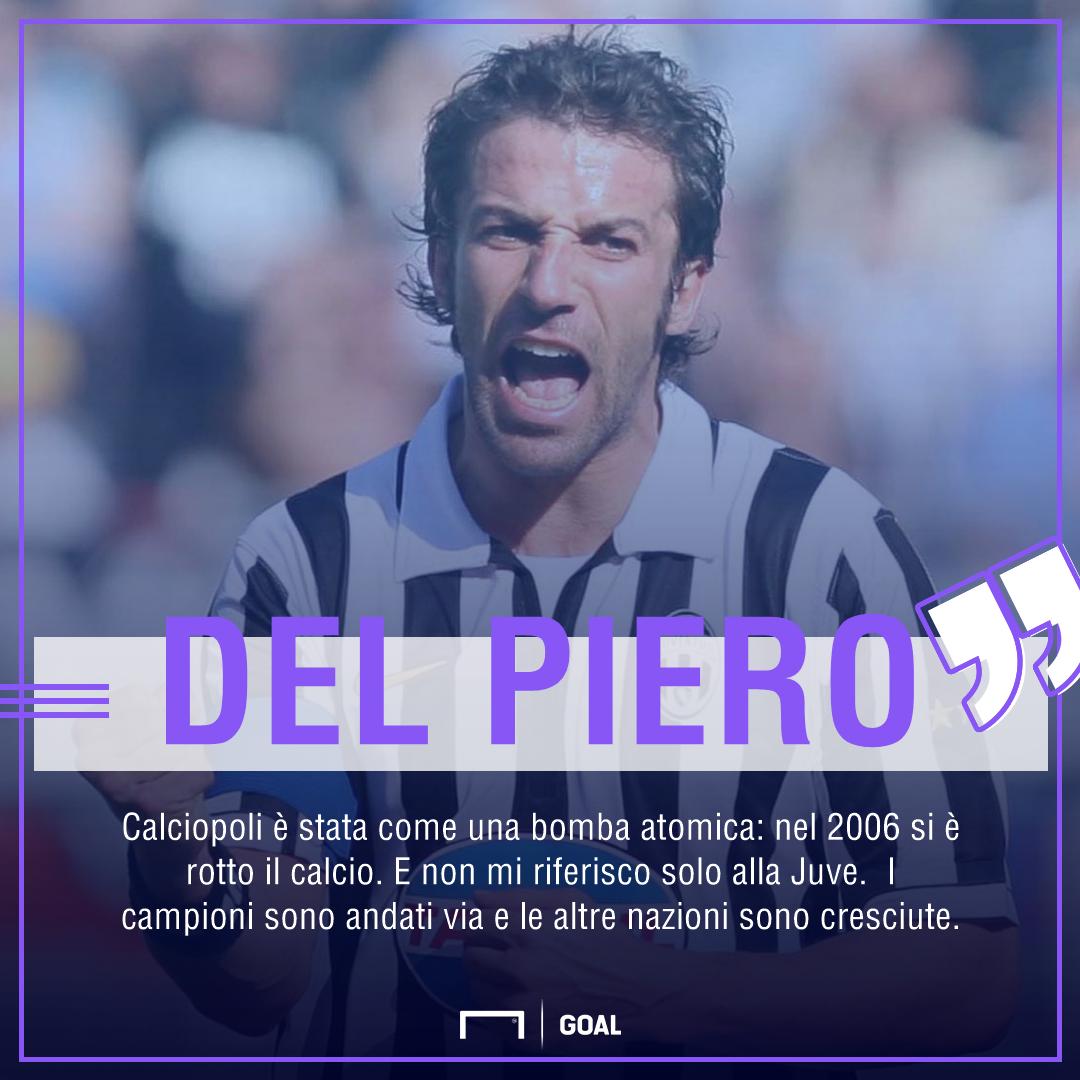 Juventus, Del Piero: