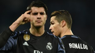 Alvaro Morata Cristiano Ronaldo Real Madrid