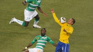 Luis Fabiano Brazil Ivory Coast 2010 World Cup