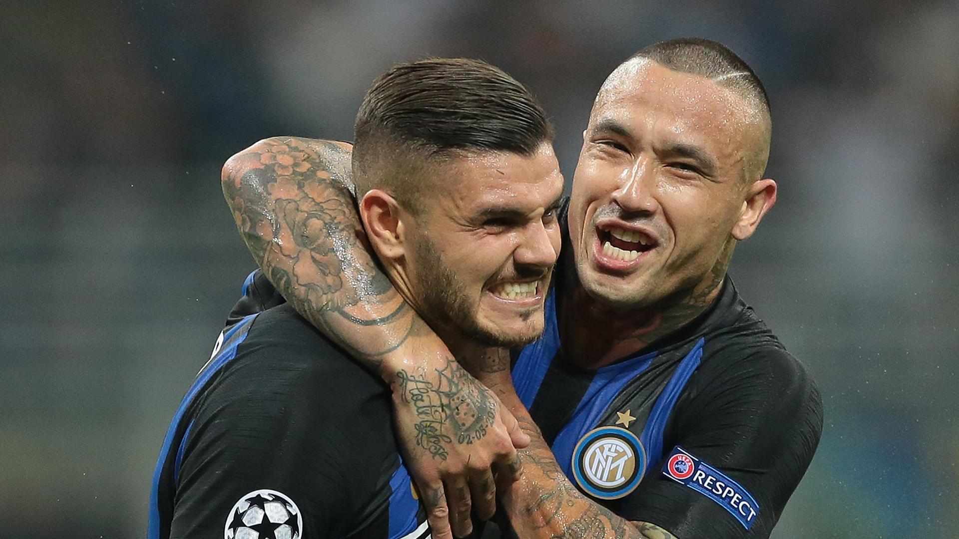Inter Champions League 2018 Icardi