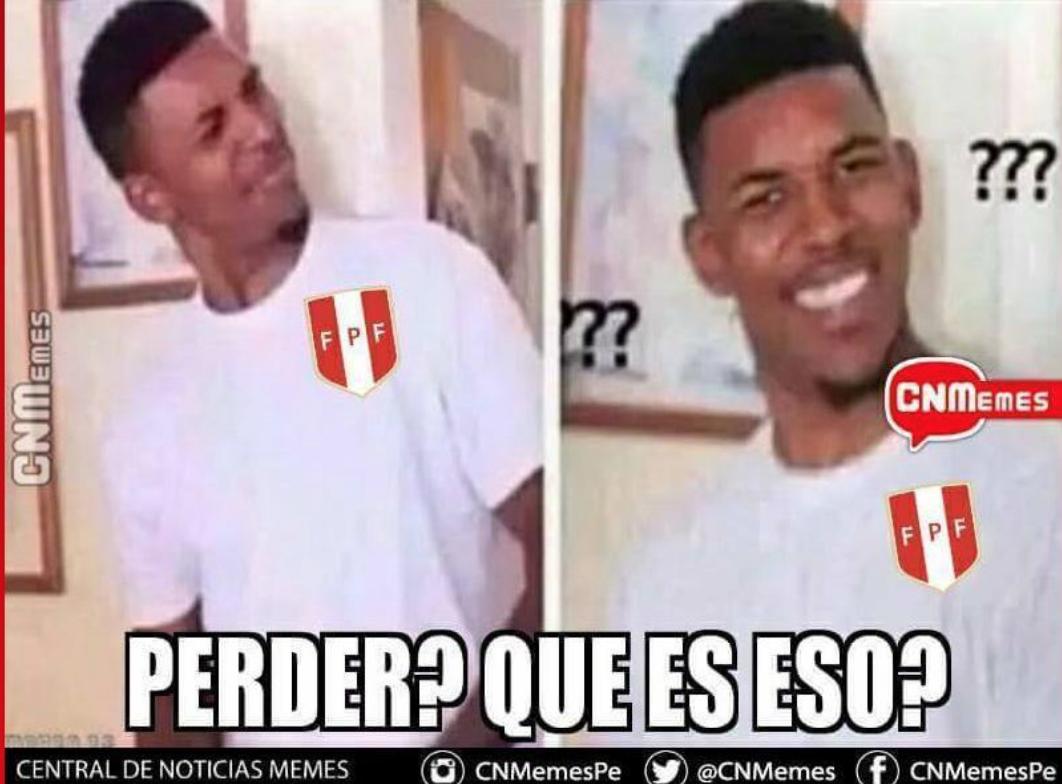 Memes Perú vs Dinamarca