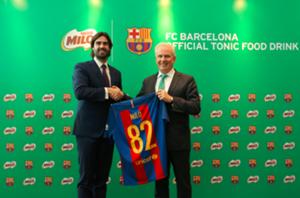 MILO & Barcelona partnership unveiling