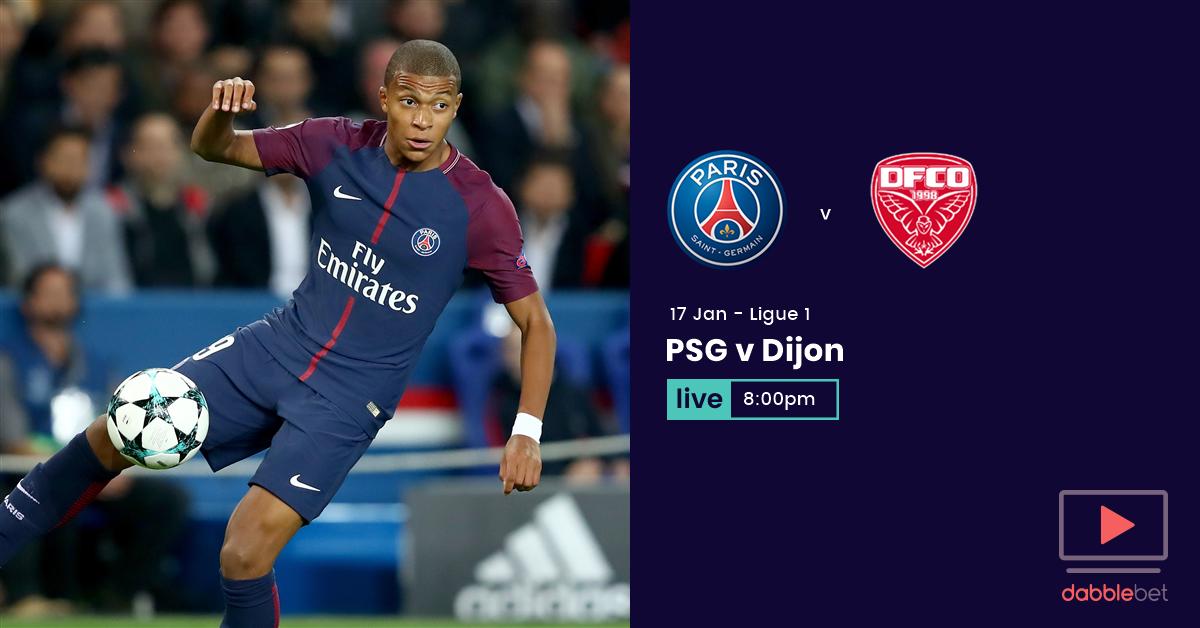 PSG Dijon graphic
