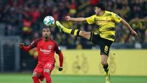 Kevin-Prince Boateng Mahmoud Dahoud Borussia Dortmund Eintracht Frankfurt 11032018