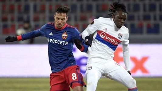 Georgi Milanov Bertrand Traore CSKA Moscow Lyon Ligue 1 08032018