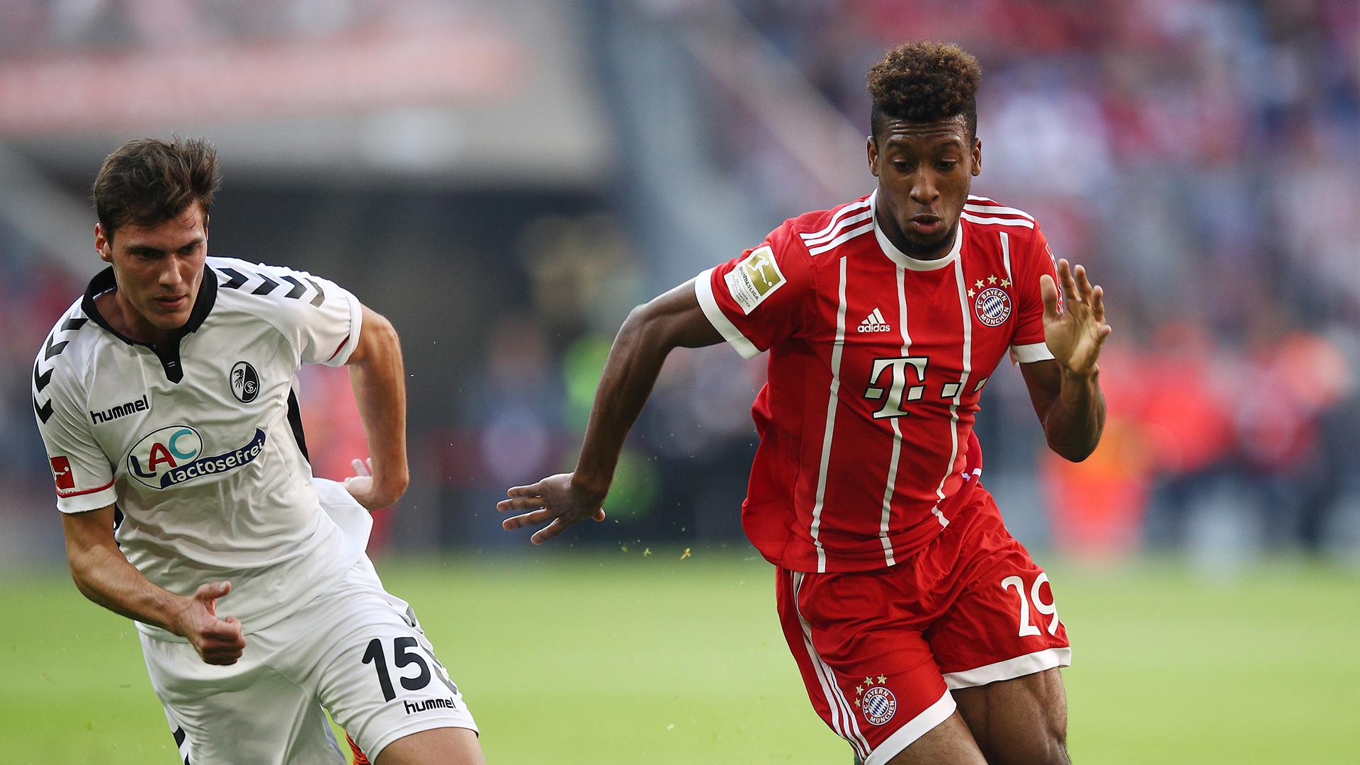 Kingsley Coman FC Bayern München 14102017