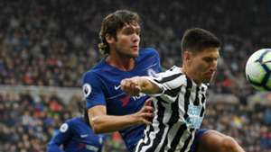 Marcos Alonso Newcastle United Chelsea