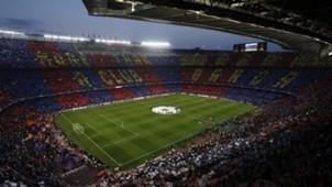 Camp Nou mosaic Barcelona Juventus UCL 19042017