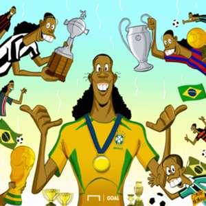 Kartun Goal Internasional 2018 - Ronaldinho Gantung Sepatu