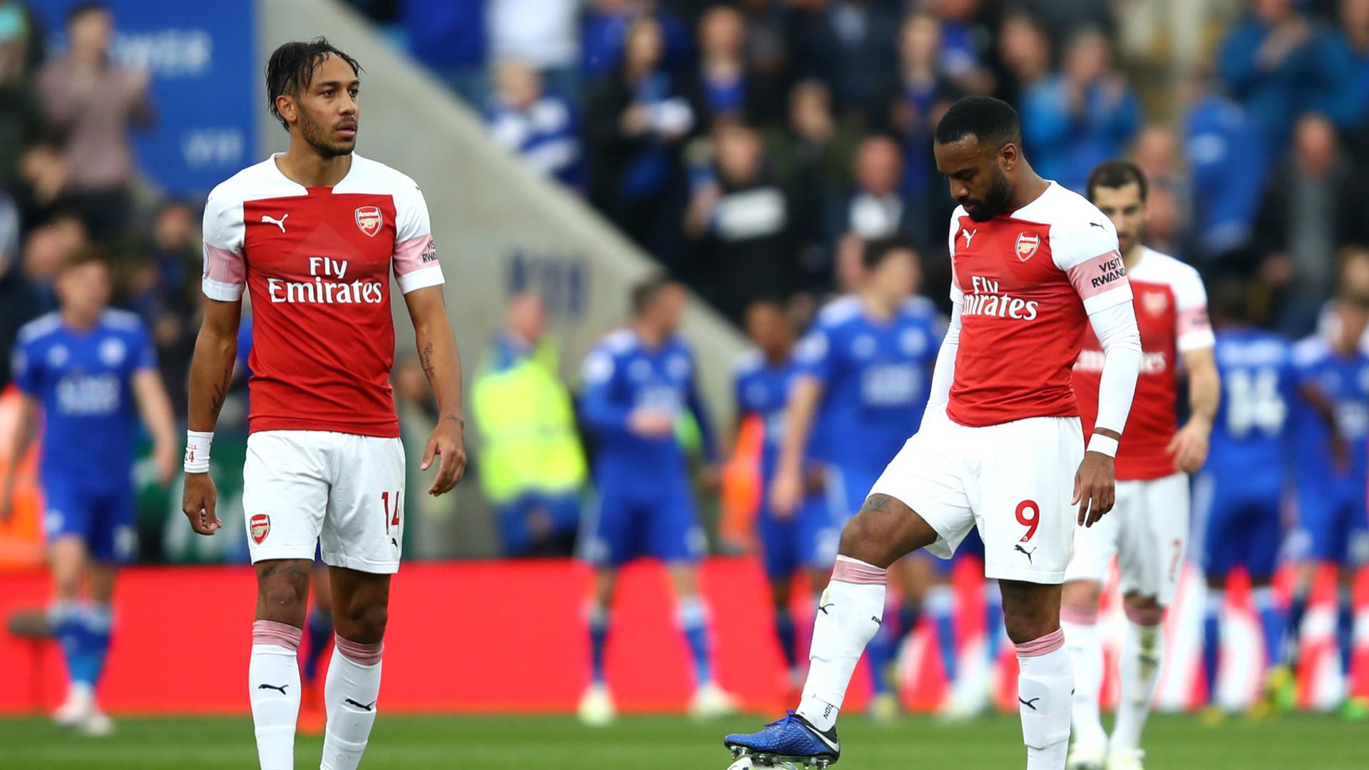Pierre-Emerick Aubameyang Alexandre Lacazette Arsenal 2018-19