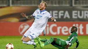 Vogt, Lukoki, Hoffenheim - Ludogorets, Europa League, 09282017