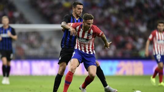 Koke Atletico Madrid Inter ICC 2018