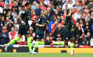 Raheem Sterling goal Arsenal Manchester City Premier League 2018-19