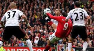 Dimitar Berbatov Manchester United Liverpool 2010
