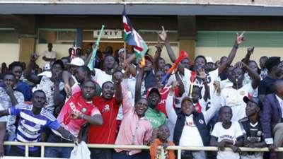 Kenya and Harambee Stars fans v Tanzania.