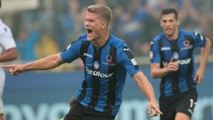 Andreas Cornelius Atalanta Bologna Serie A 10222017