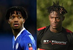 Nathaniel Chalobah Michy Batshuayi Chelsea Collage