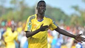 KCCA striker Derrick Nsibambi of Uganda.