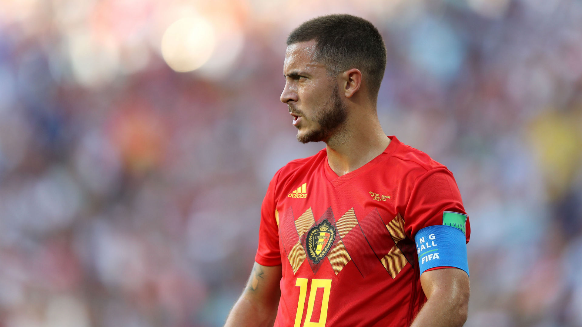 Lukaku and Hazard score two each as Belgium crush Tunisia