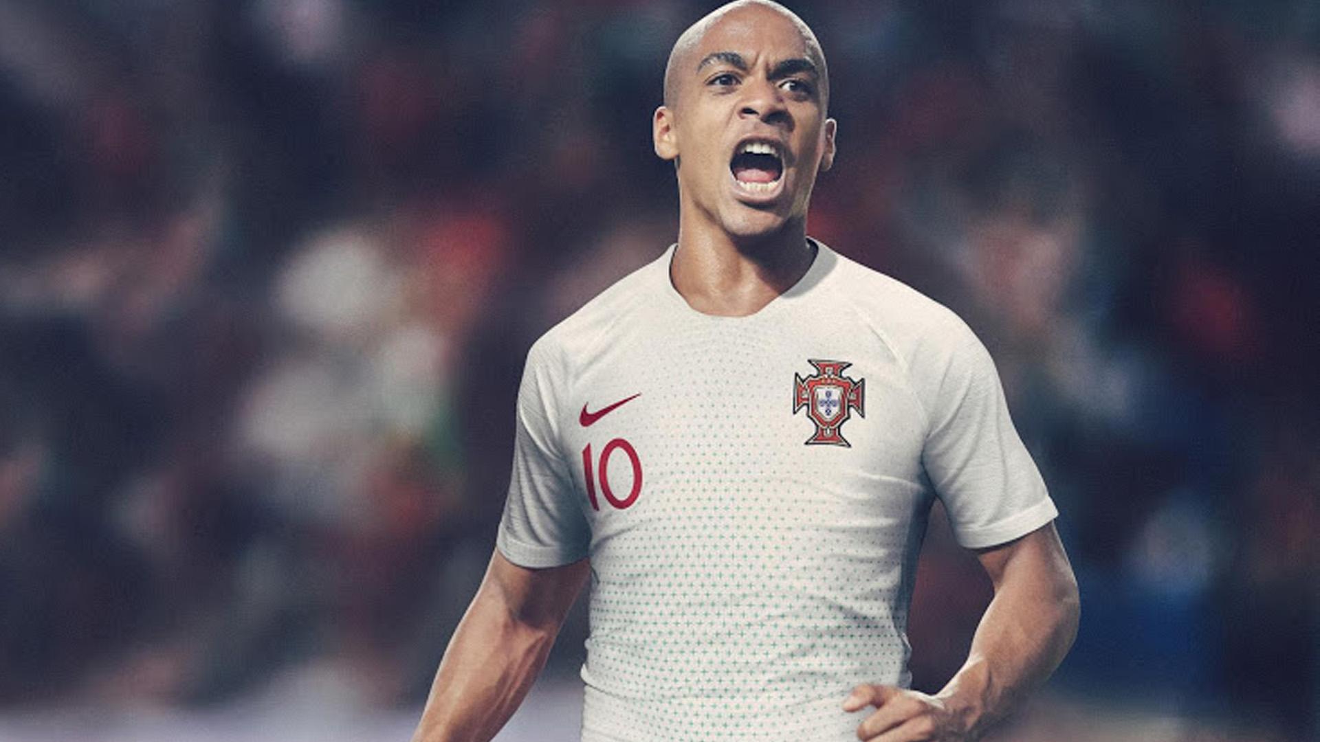 Portugal Camiseta Alternativa Away Kit 2018