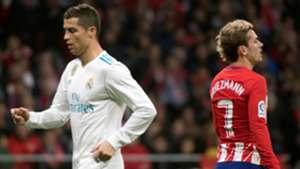 Cristiano Ronaldo Antoine Griezmann Atletico Real Madrid LaLiga 18112017