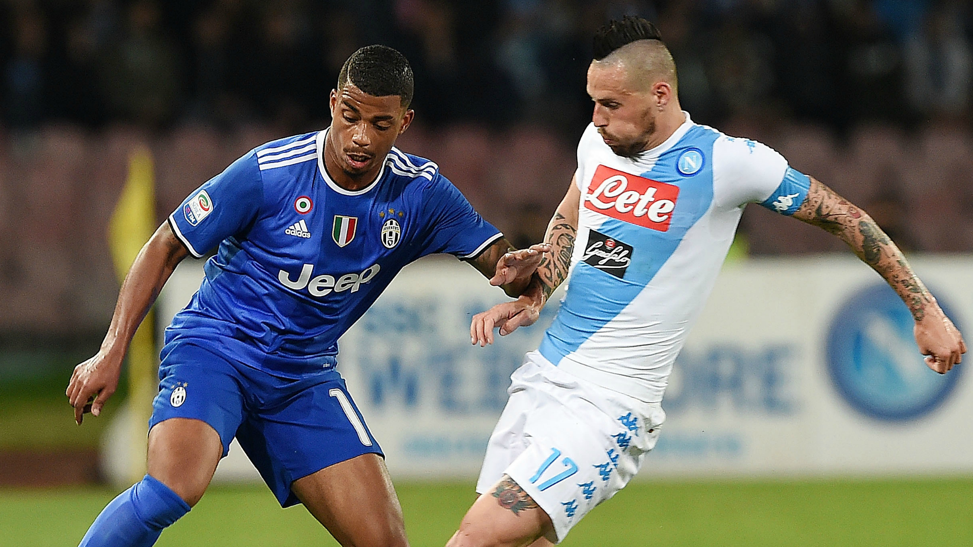 Hamsik Lemina Napoli Juventus Serie A