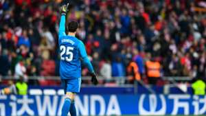 Courtois Atletico Madrid Real Madrid LaLiga