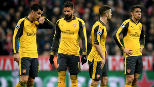 Arsenal Champions League 2017