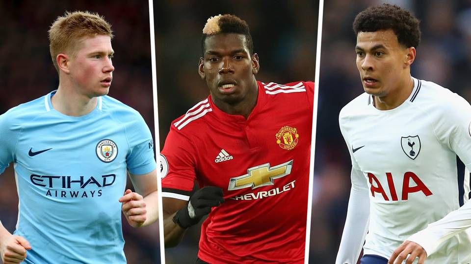 Premier League most assists 2017-18: Man City stars still in front