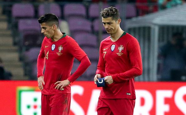 Joao Cancelo Cristiano Ronaldo