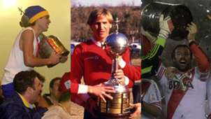 Juan Roman Riquelme Enzo Trossero Fernando Cavenaghi Copa Libertadores