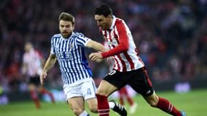 Asier Illarramendi Aritz Aduriz Athletic Bilbao Real Sociedad