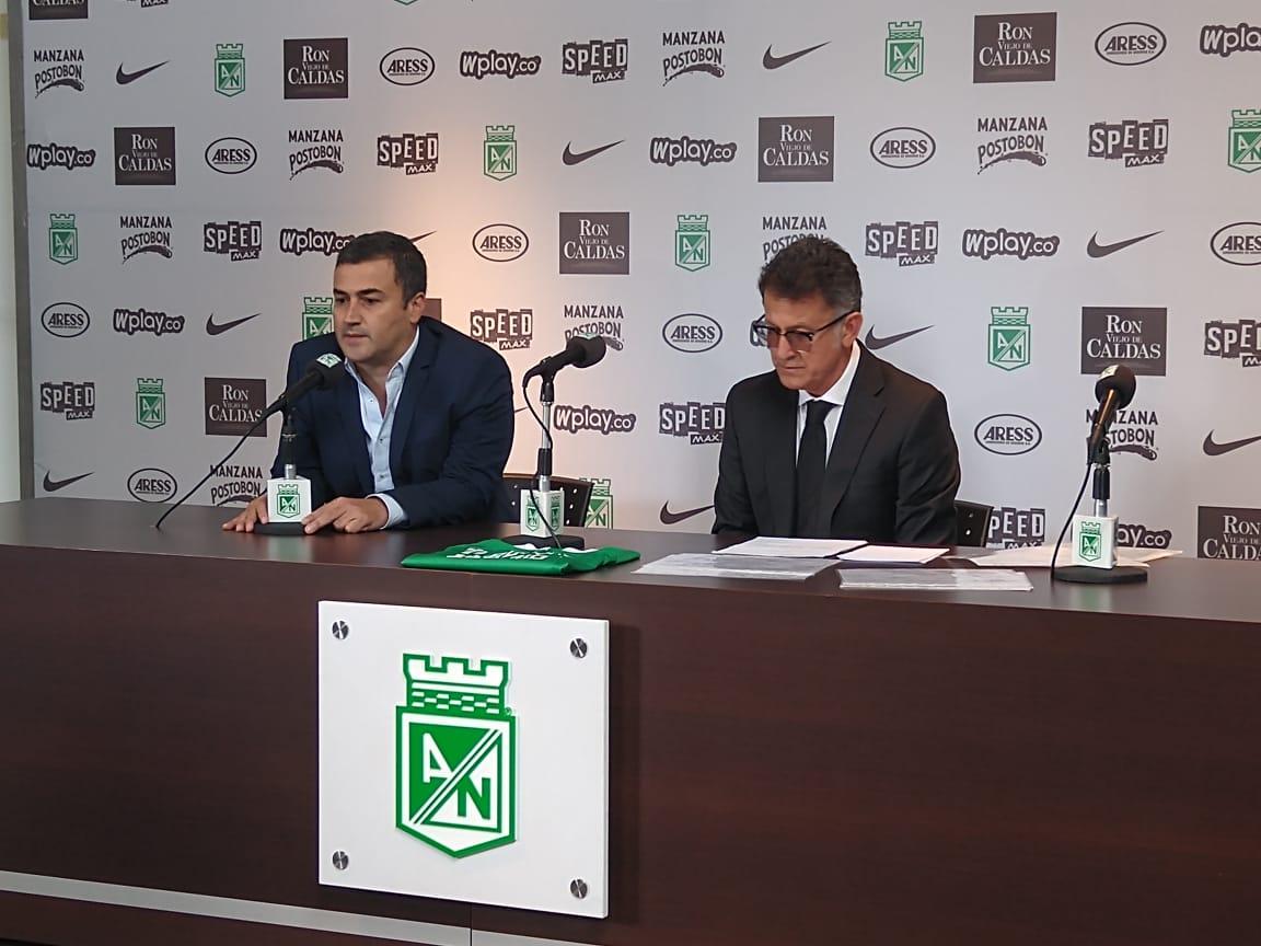 Presentación Juan Carlos Osorio Atlético Nacional 2019