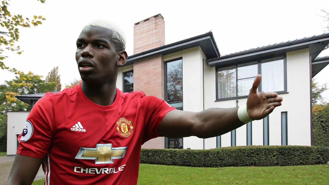 Paul Pogba house