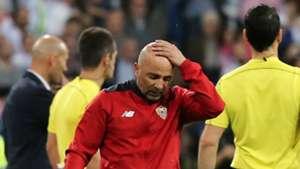 Jorge Sampaoli Real Madrid Sevilla LaLiga 14052017